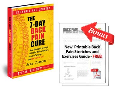 The 7 Day Back Pain Cure Book