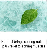 Menthol for Pain Relief