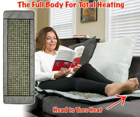 The Full Body Sleeper - Head to Toes Heat