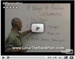 Still image of Jesse Cannone's video on how to reduce inflammation