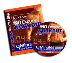 Burn Calories Fast with the No Excuse Workout System