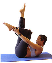pilates - control over muscle reflex action
