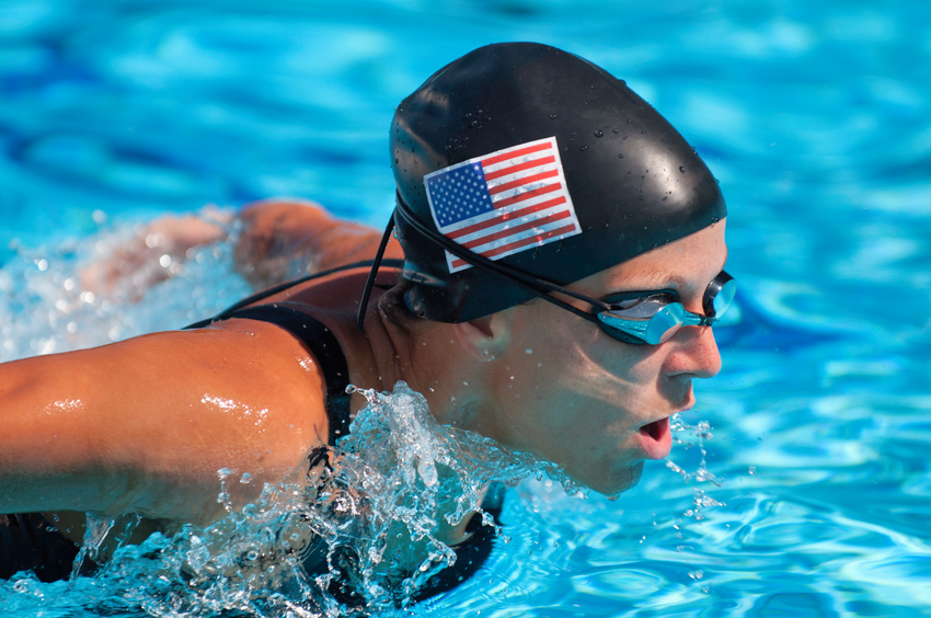 Olympic Swimmer USA
