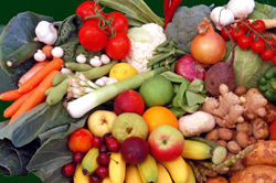 Healthy Eating - Fruits and Vegetables