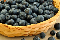 anti-oxidants blueberries