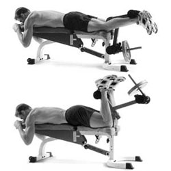 machine leg curls