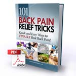 101 Back Pain Relief Tricks book