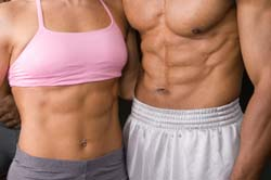 Get muscular abs with the best calorie burning exercises