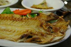 Tilefish - NOT a safe fish to eat