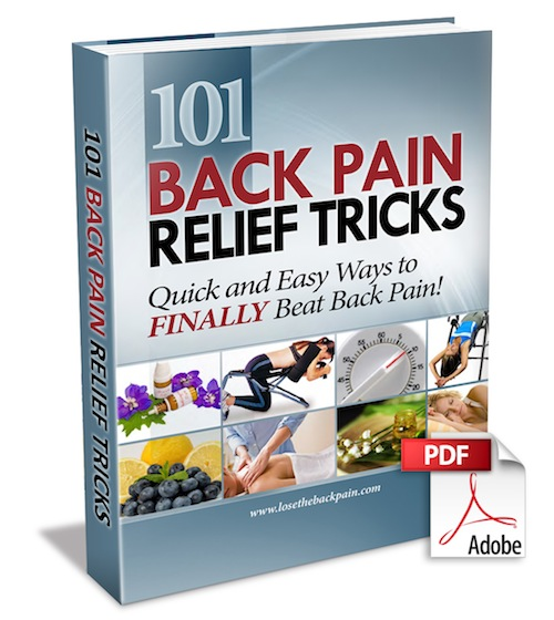 101 Back Pain Relief Tricks