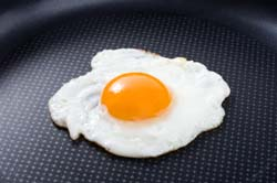 Fried Egg in Pan