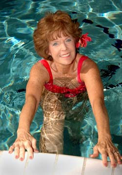 Swimming Pool Stretches & Exercises for Back Pain