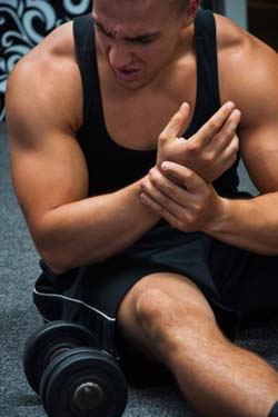 Body Builder Wrist Pain
