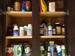 Jesse's Supplement Cabinet