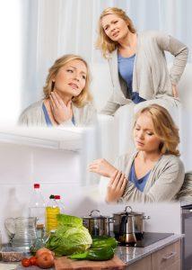 pain kitchen collage