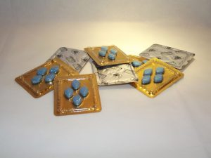 Viagra - 4 pack little blue pills