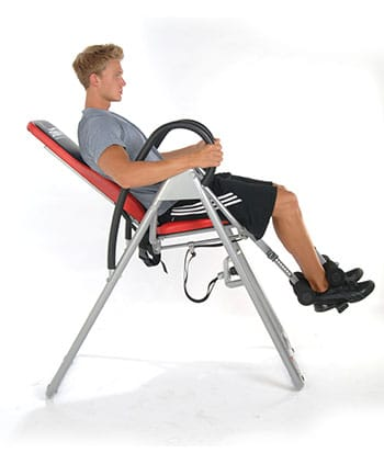 Seated InLine Inversion System inversion table
