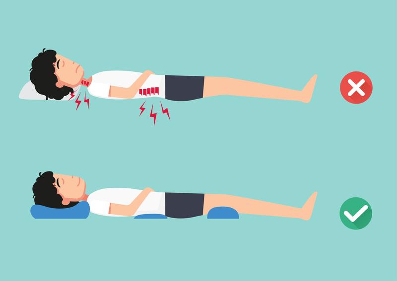 sleep posture for lower back pain